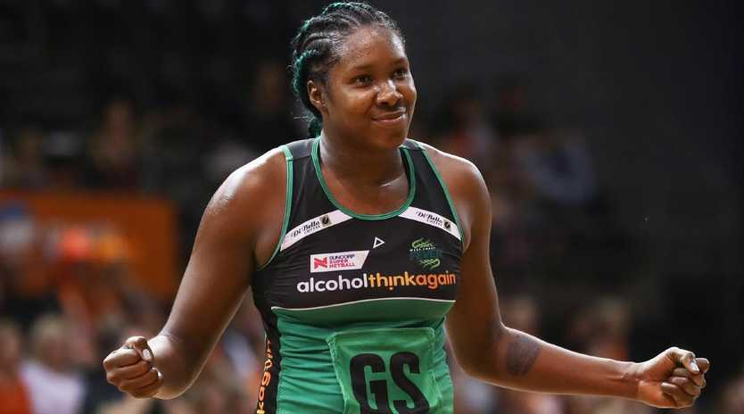 Jhaniele Fowler starred for West Coast Fever this year.