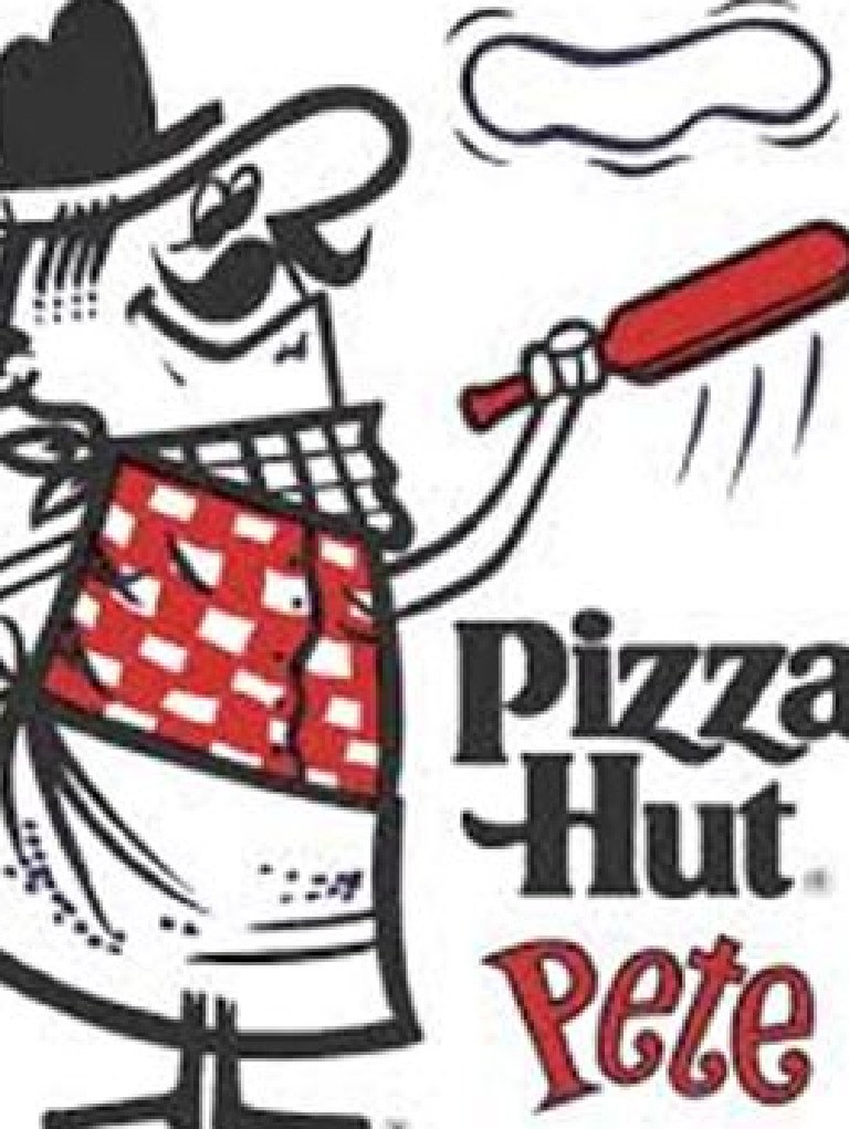 The updated logo featuring Pizza Pete. Picture: Supplied