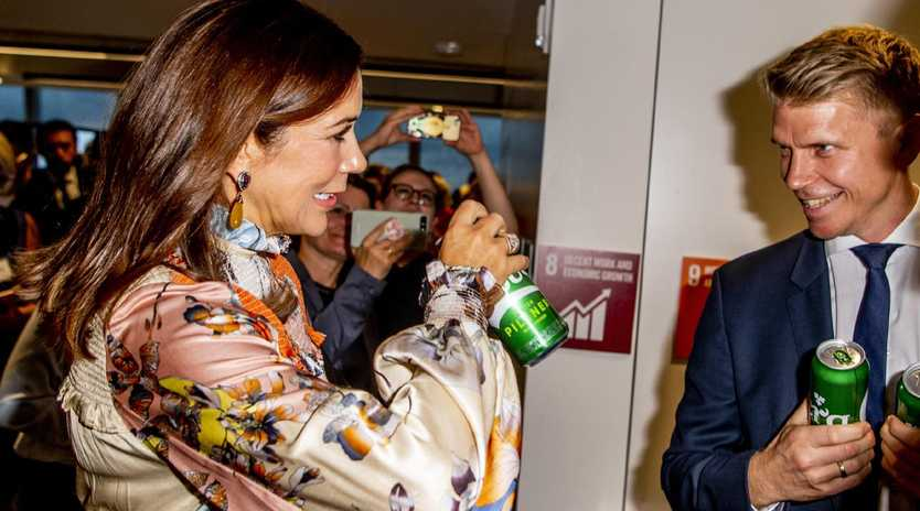 Princess Mary Of Denmark attends an event to spotlight Denmark's achievements in sustainability. Picture: Supplied