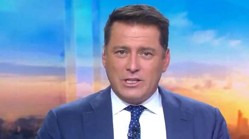Karl Stefanovic on the Today show. Picture: Today