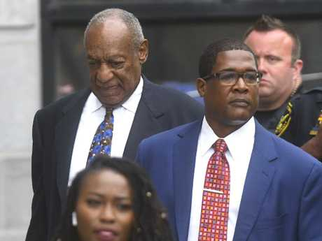 Bill Cosby will learn his fate at Montgomery County Courthouse in Norristown, Pennsylvania. Picture: Mark Makela/Getty Images