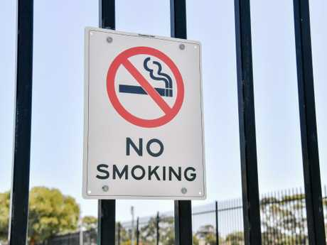 This could be the nation's first CBD-wide smoking ban in a capital city. Picture: Morgan Sette/AAP