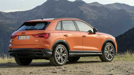 The Audi Q3 is built off the company's versatile MQB platform.