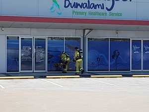 Businesses evacuated due to gas leak