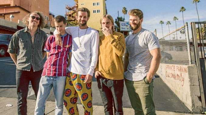 STARS: The Rubens are an alt-rock band from Menangle, NSW, formed by three Margin brothers, Zaac, Sam and Elliott, and friends Scott Baldwin and William Zeglis.