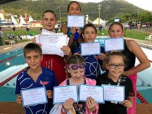 Cannons youngsters lift their performance times