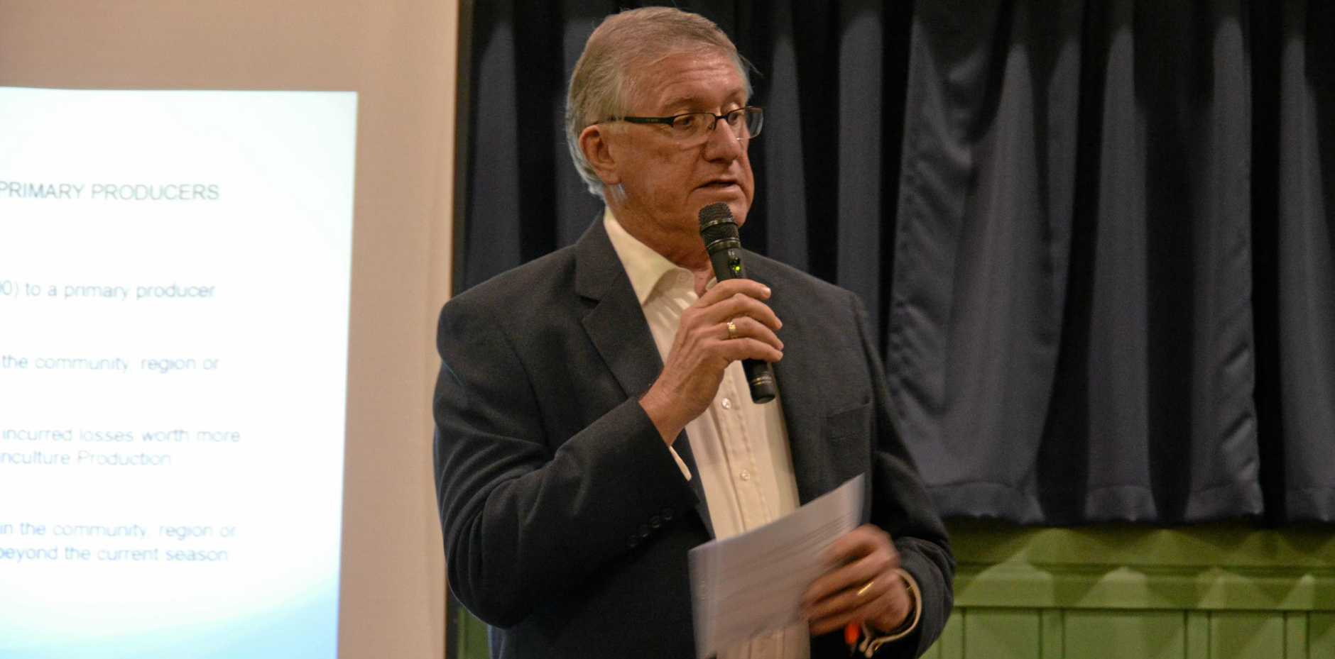 GREAT START: Mayor Keith Campbell 'very happy' with first two listening tour events.