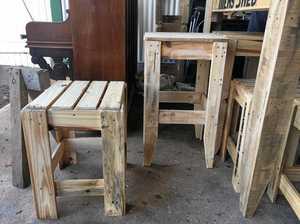 Blind carpenter inspires the community