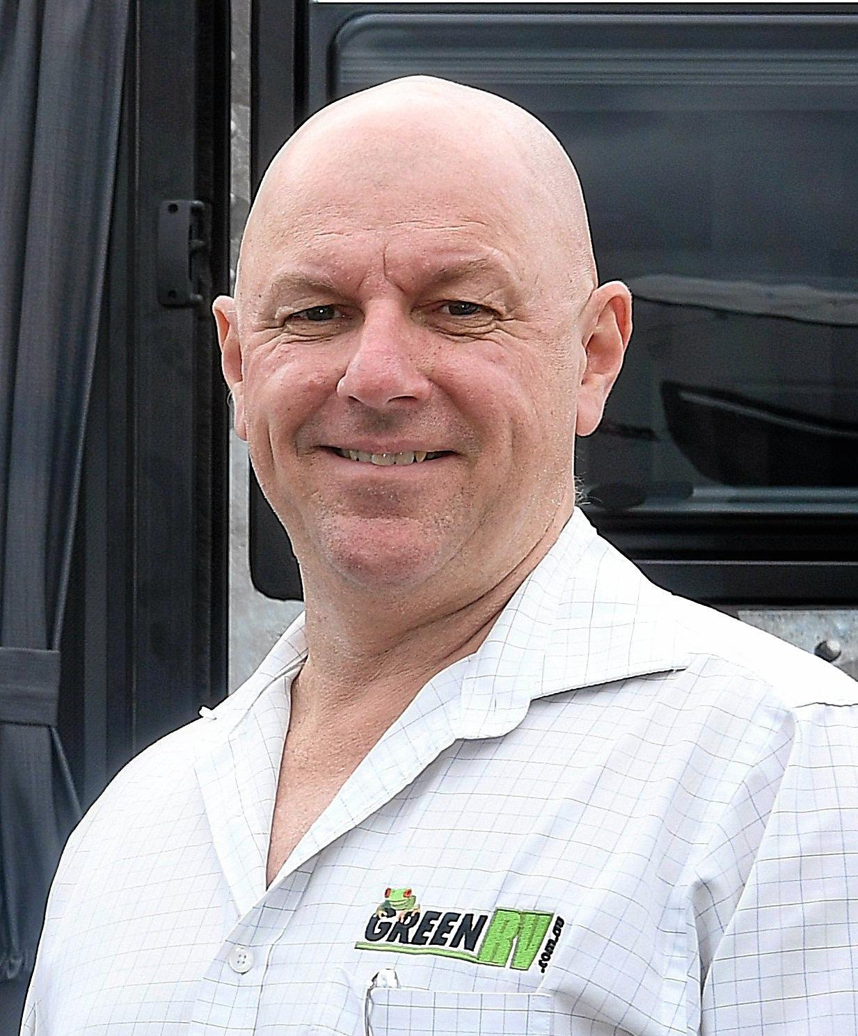 Carl Green from Green RV in Gympie has built his empire from a small car-yard to a multi-million dollar caravan and motorhome dynasty.