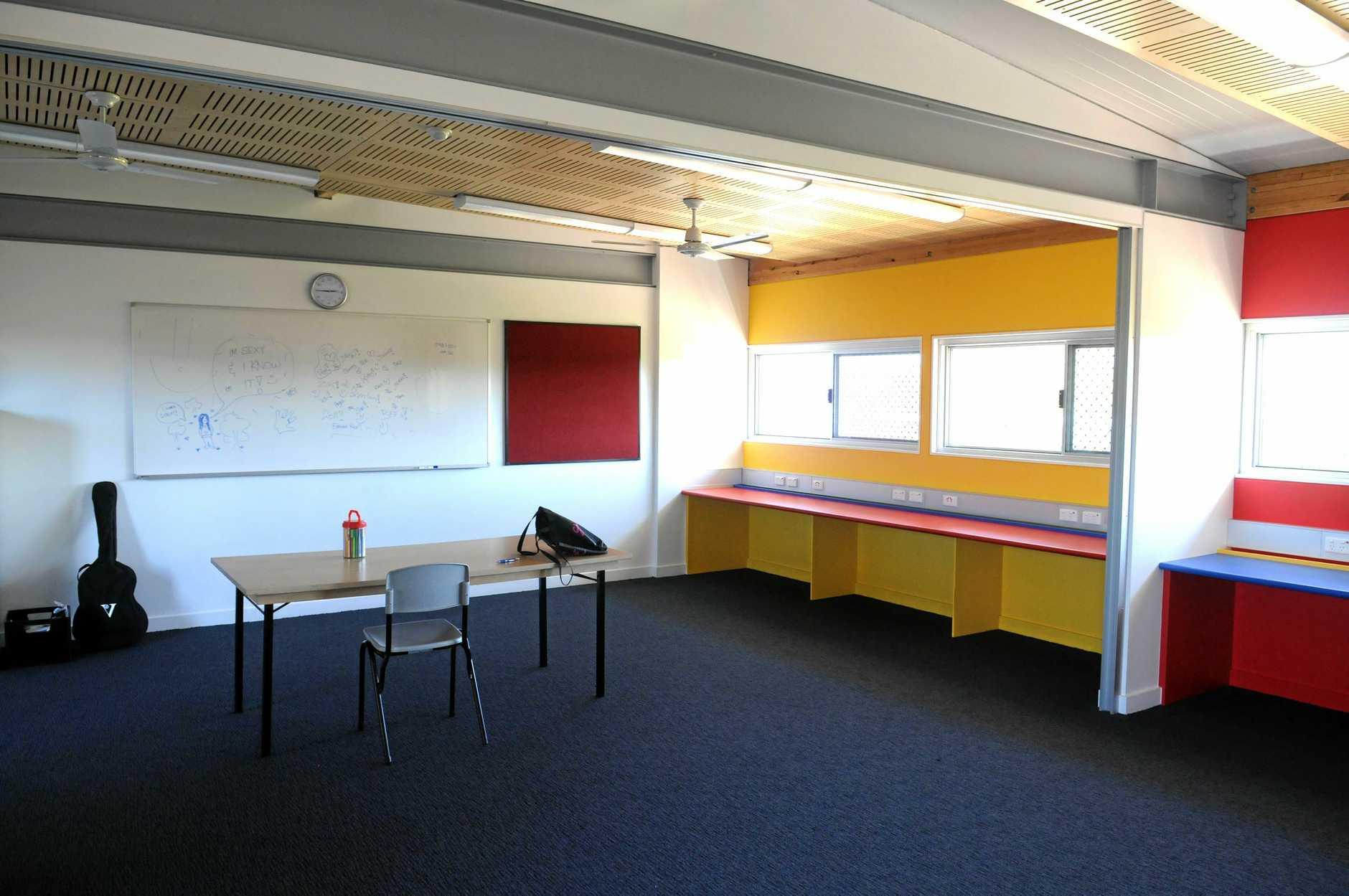 Classroom Edmund Rice School in Gympie with teacher Jasmin Crouch Photo Craig Warhurst / The Gympie Times