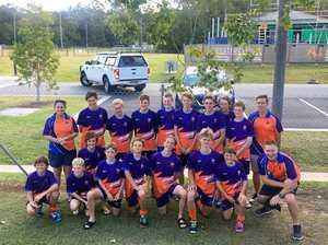 Boys finish second at U15 state hockey championships