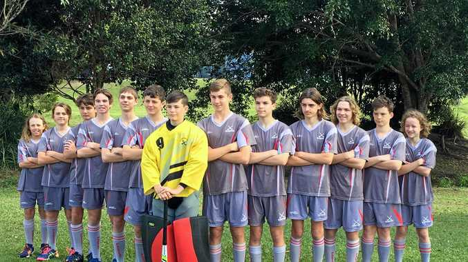 PLAYERS' SUCCESS: The Gladstone under-15 Boys Hockey team recently won the under-15 Boys State Division Two Championship going through undefeated.