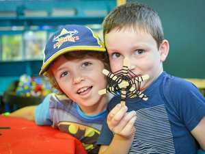 GALLERY: Mount Larcom enjoys creepy crawly fun
