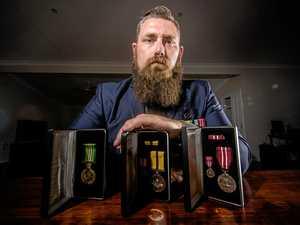 War veteran elated after return of stolen medals