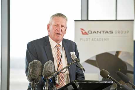 Denis Wagner. Qantas pilot training academy announced for Wellcamp airport. Thursday, 27th Sep, 2018.
