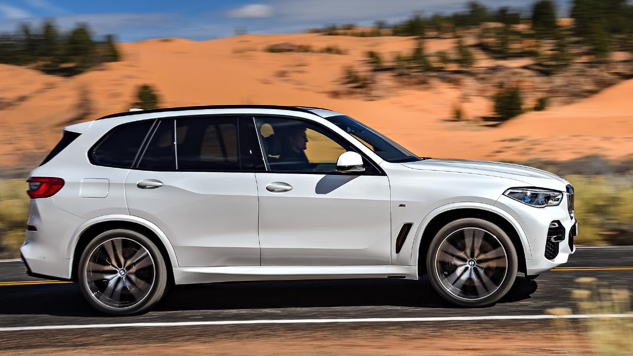 BMW has stretched the X5 for more rear leg, head and knee room. Pic: Supplied.