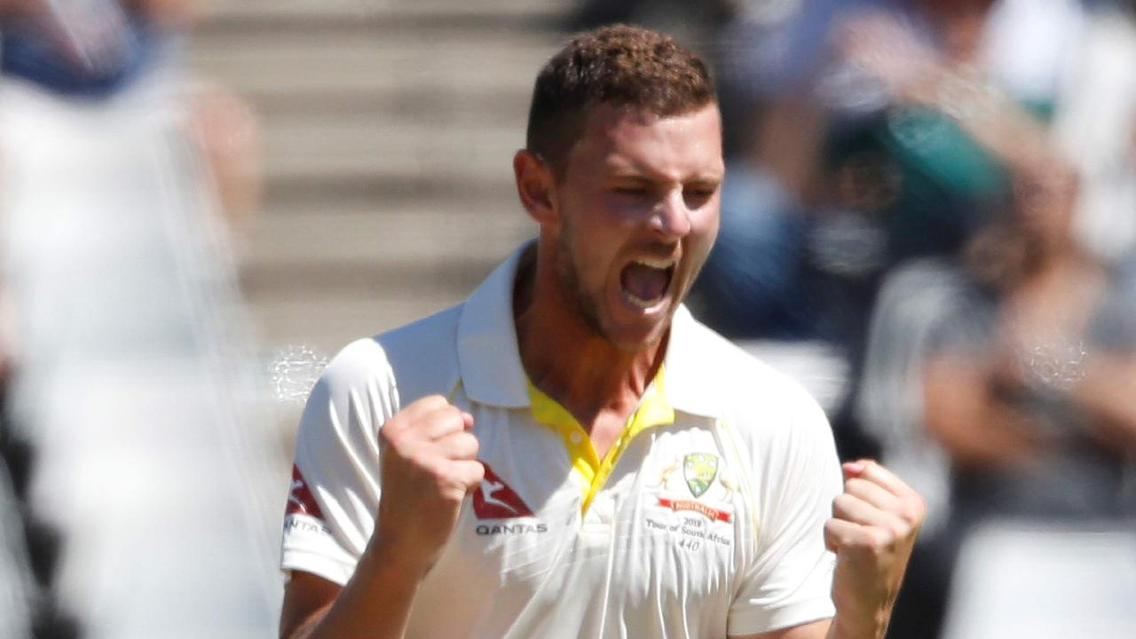 Josh Hazlewood has been named joint vice-captain of Australia with Mitch Marsh.
