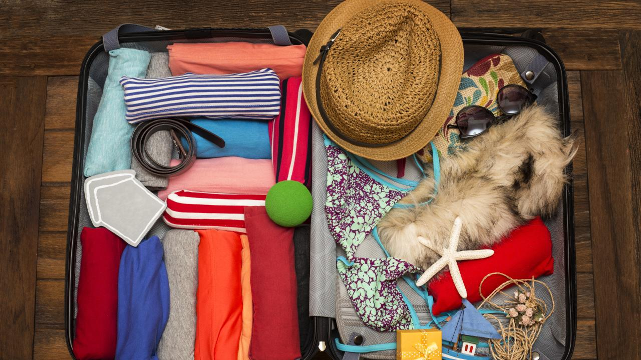 Packing cubes are great, but there are other ways to organise your suitcase.