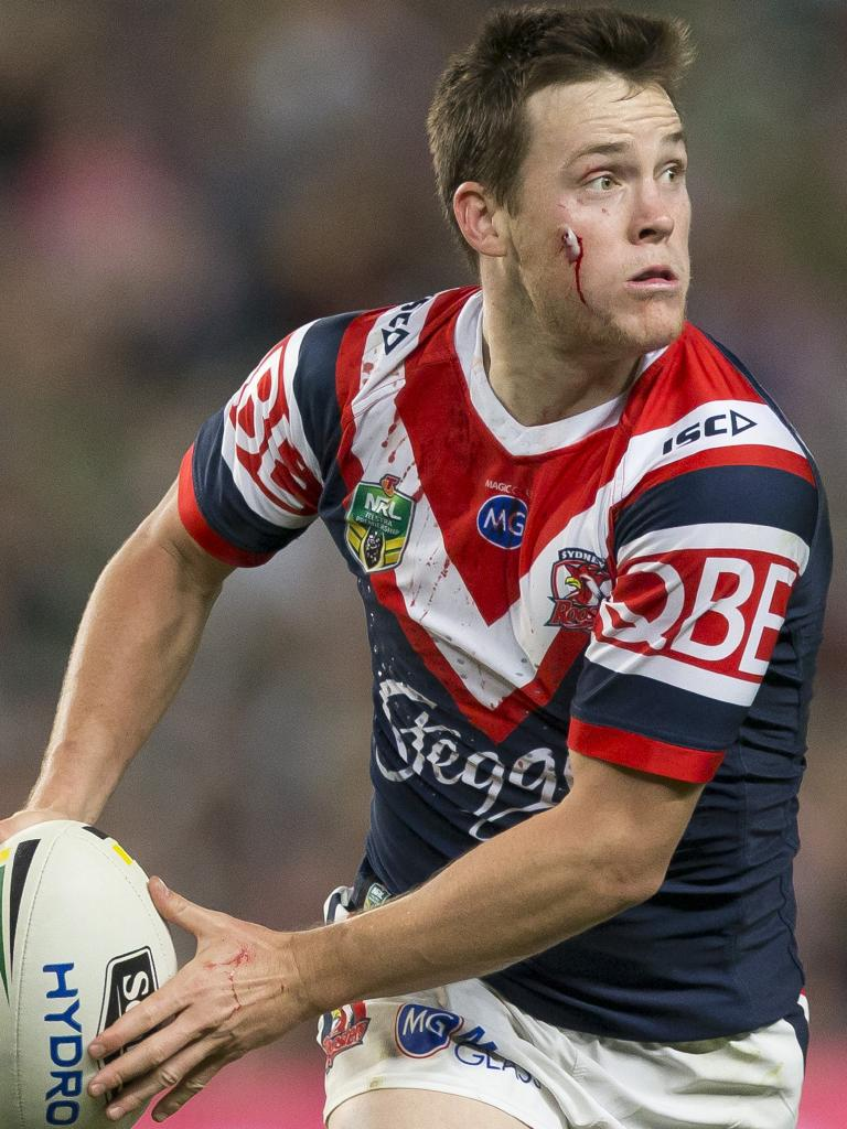 Keary wasn't afraid to take on Russell Crowe while at South Sydney. (AAP Image/Craig Golding)
