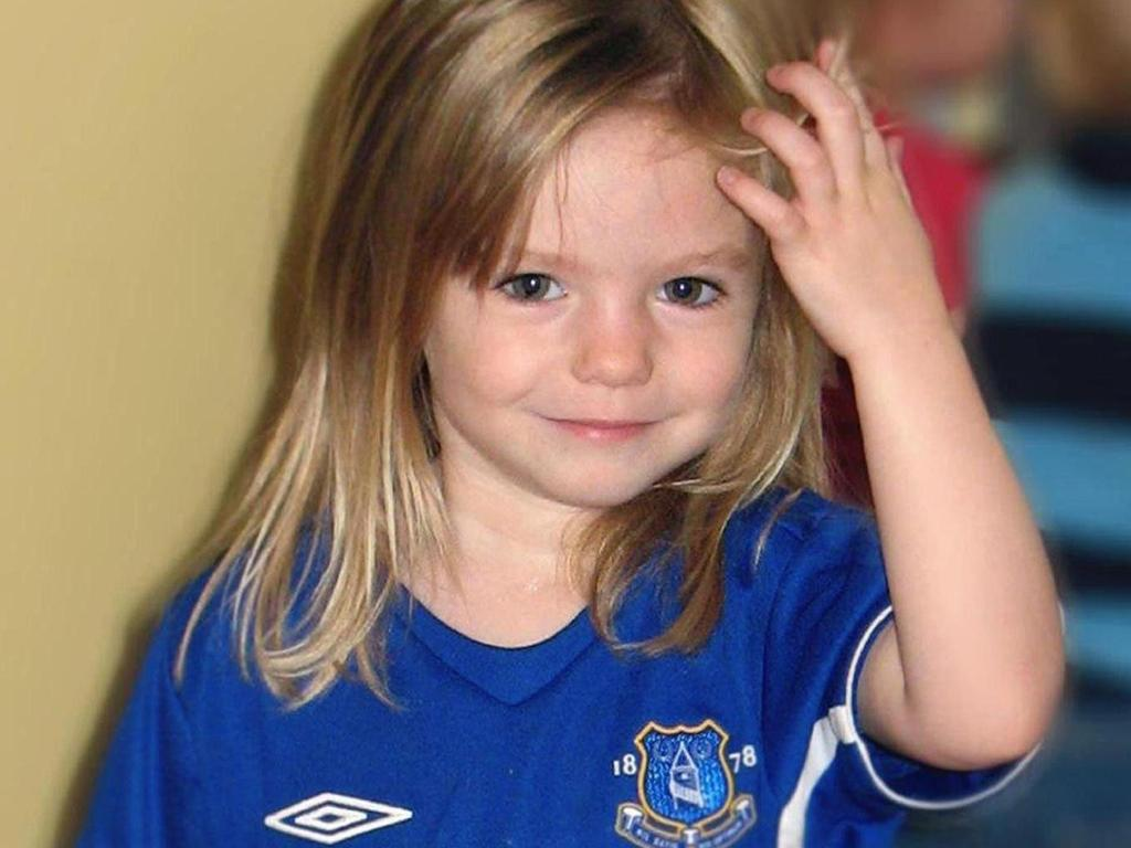 Madeleine McCann disappeared at the age of three during a family holiday to Portugal. Picture: Supplied
