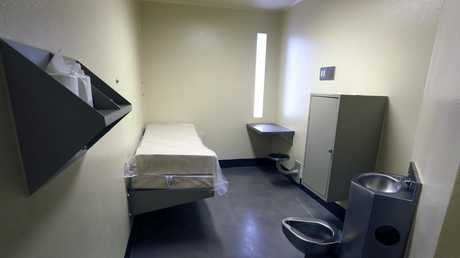 A cell in the West section of the State Correctional Institution at Phoenix. Picture: AP