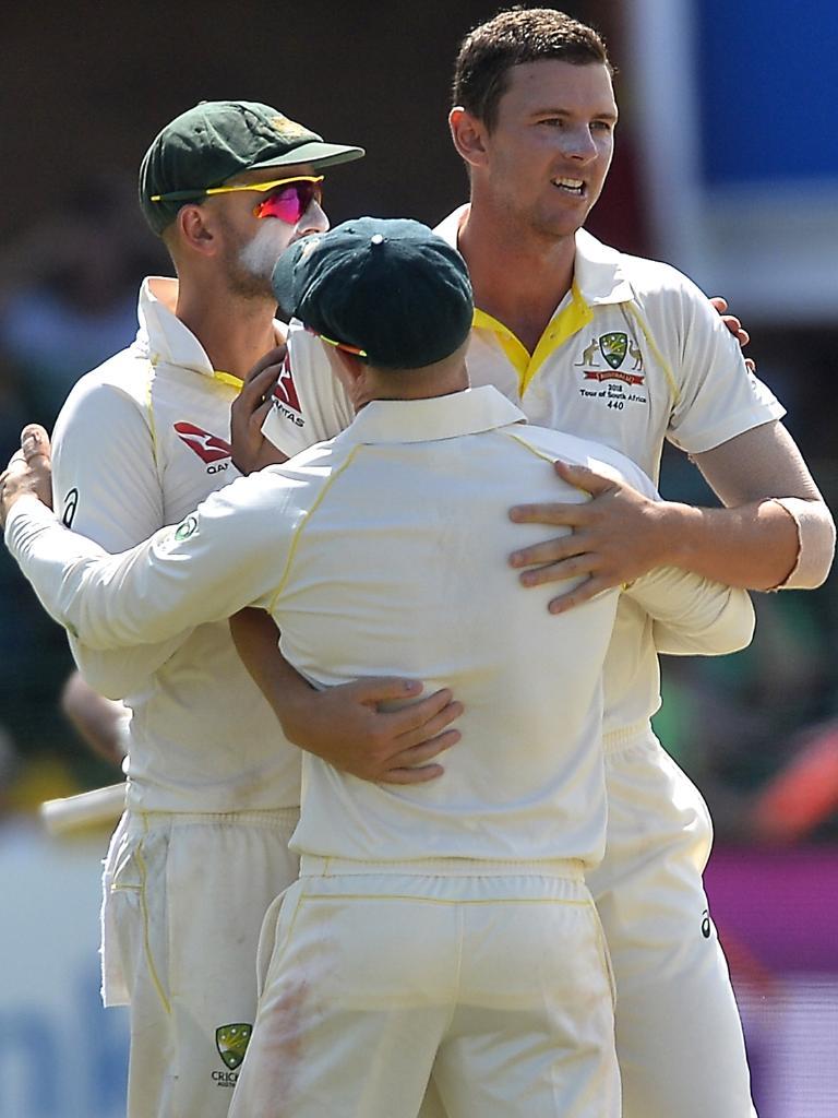 Josh Hazlewood is, along with Mitch Marsh, Australia's new Test vice-captain. Picture: Ashley Vlotman/Gallo