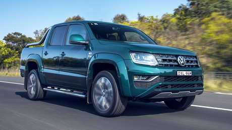 The Volkswagen Amarok Ultimate TDV6 580 gets a decent power bump. Picture: Supplied.