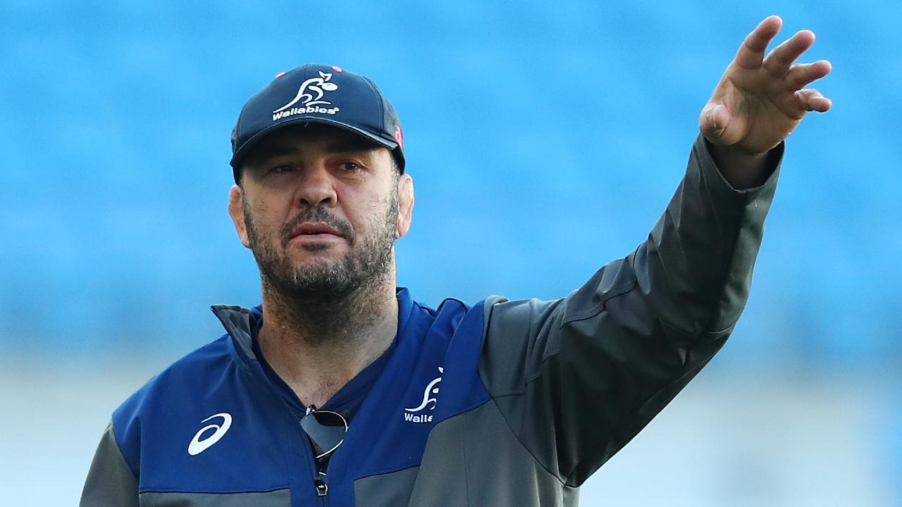 Wallabies coach Michael Cheika has elevated prop Taniela Tupou to the starting side against South Africa. Picture: Getty Images