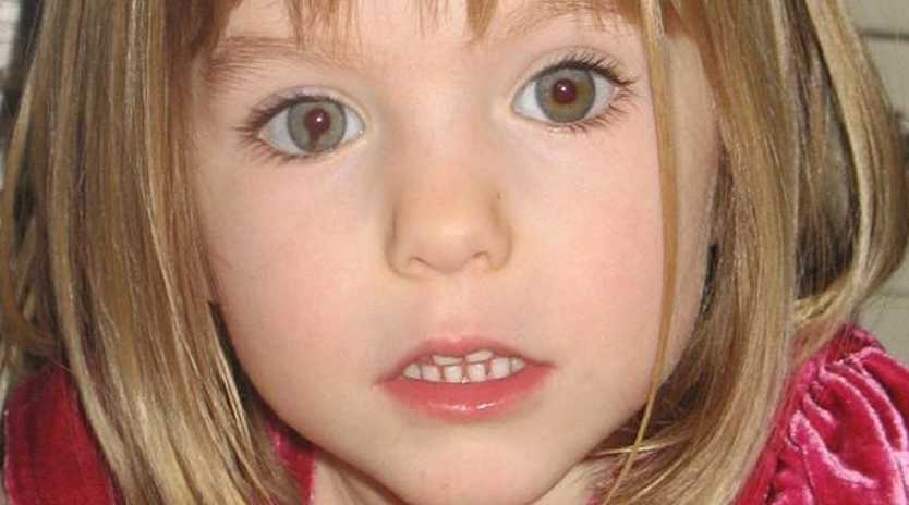 Madeleine McCann went missing in May 2007. Picture: AP