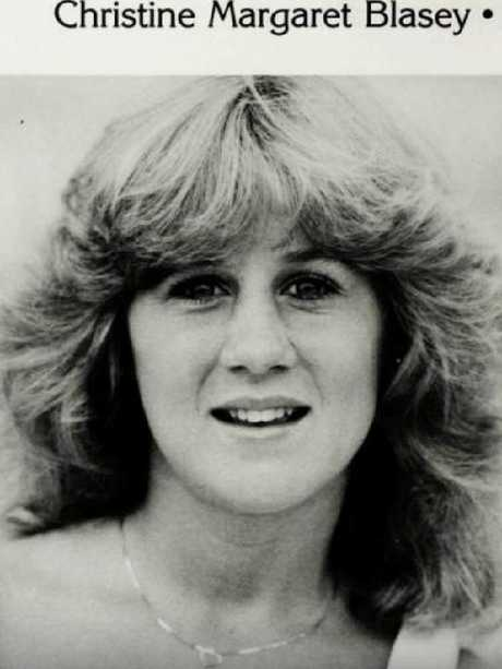 Christine Blasey Ford's year book picture:  Picture:  Supplied
