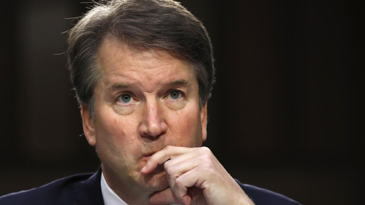 US President Donald Trump's Supreme Court nominee, Brett Kavanaugh. Picture: AP