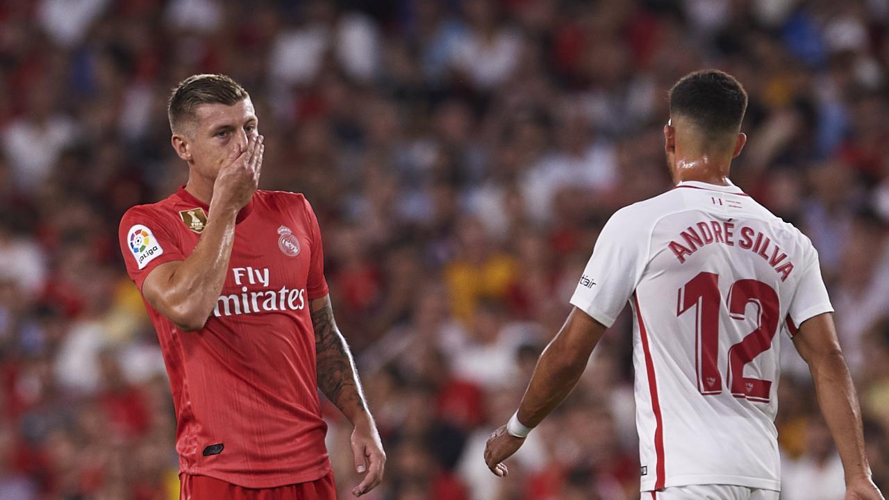 Real Madrid had a horror night against Sevilla