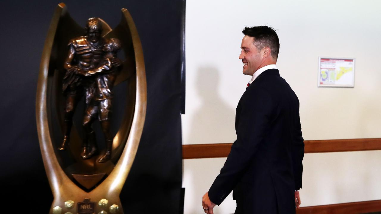 Is this as close as Cronk will get to the trophy? (Cameron Spencer/Getty Images)