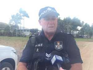 Police speak at scene of toddler tragedy