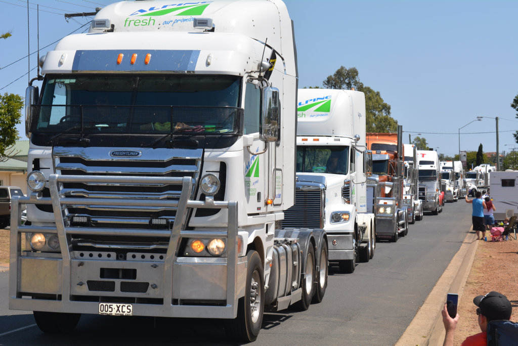 The Lights on the Hill Memorial Convoy will leave Wacol and Withcott on September 29.