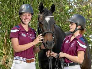 Jess, Brooke gallop towards nationals