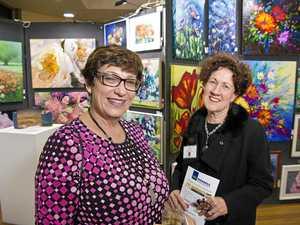 Downlands exhibition simply art warming