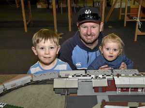 Train lovers enjoy a rail good time