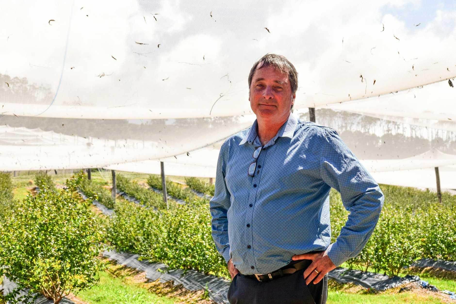 Alex Smith, Executive Director of ABGA, at Sandy Beach.