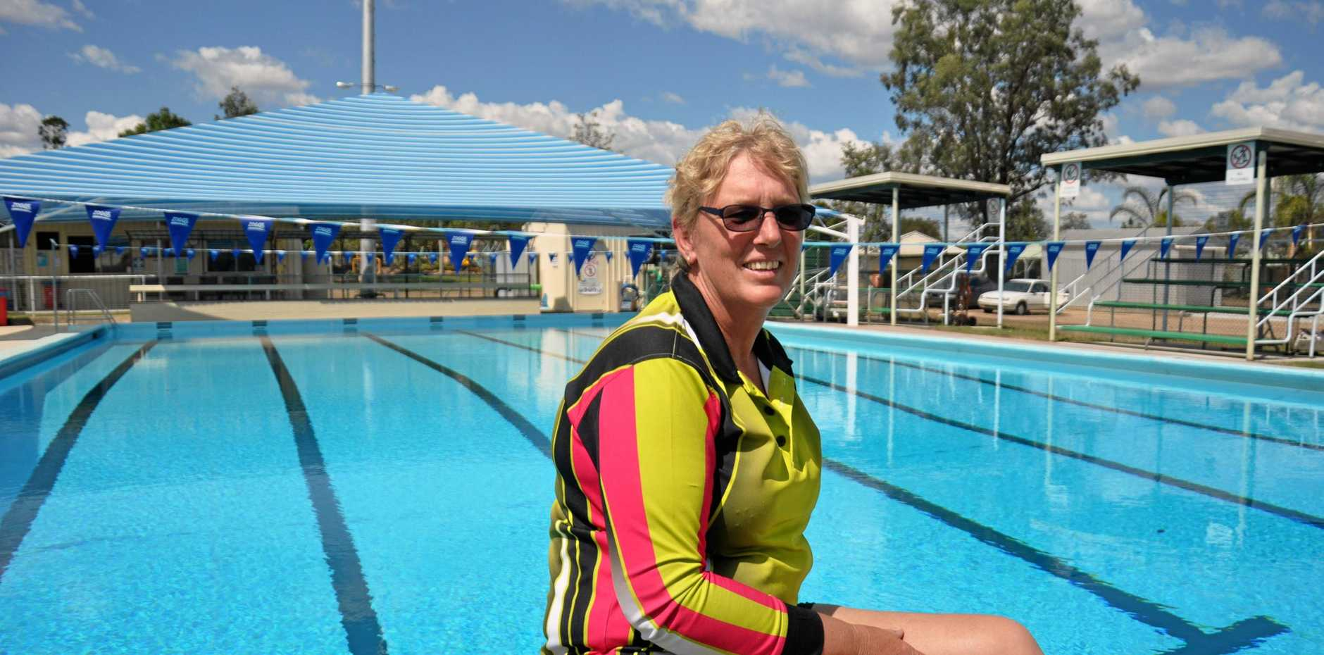 JUMP IN: Toni-Anne Ward is making a splash with a comprehensive offering of swimming and fitness programs.
