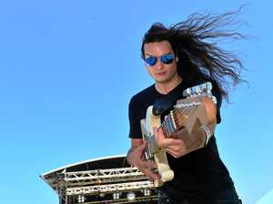 Music festival fires up in Caloundra
