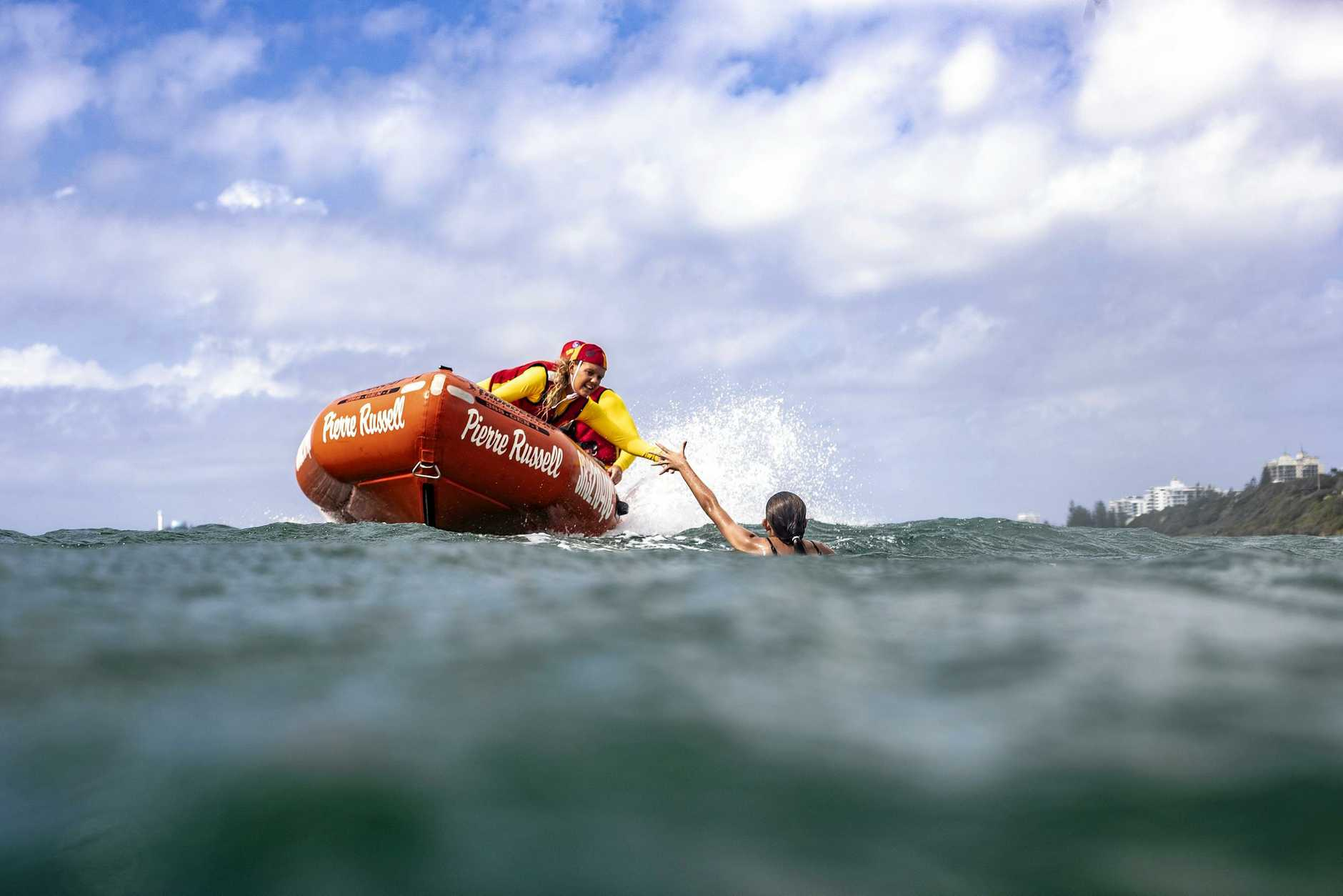 Surf lifesavers are patrolling our beaches