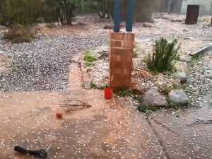 Hailstorm batters Tenterfield