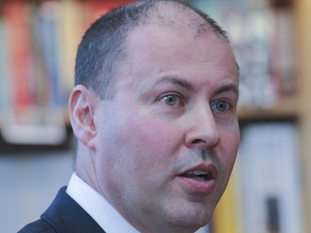 Australian Treasurer Josh Frydenberg who has praised the commission for its job. Picture: AAP