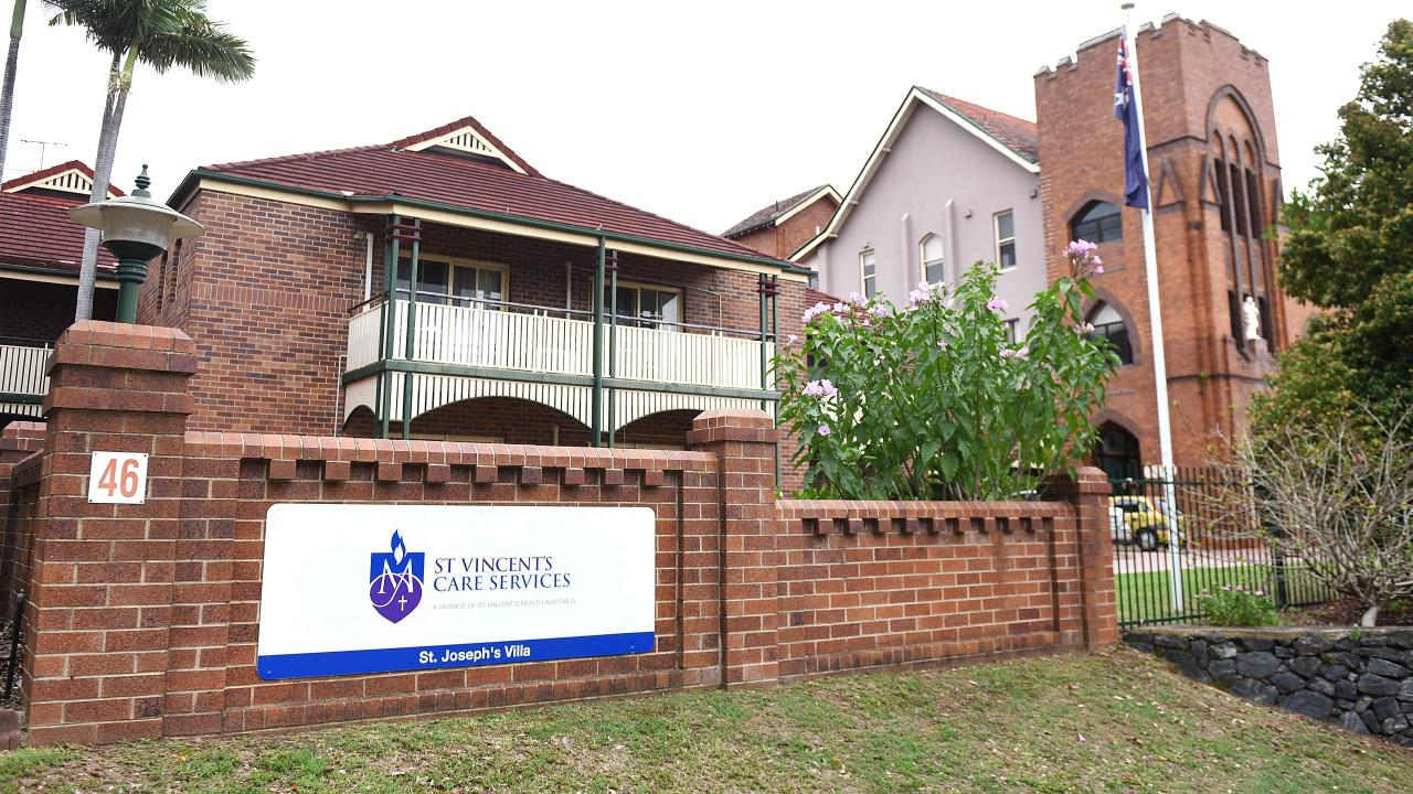 St Vincent's Care Services at Mitchelton. AAP/John Gass
