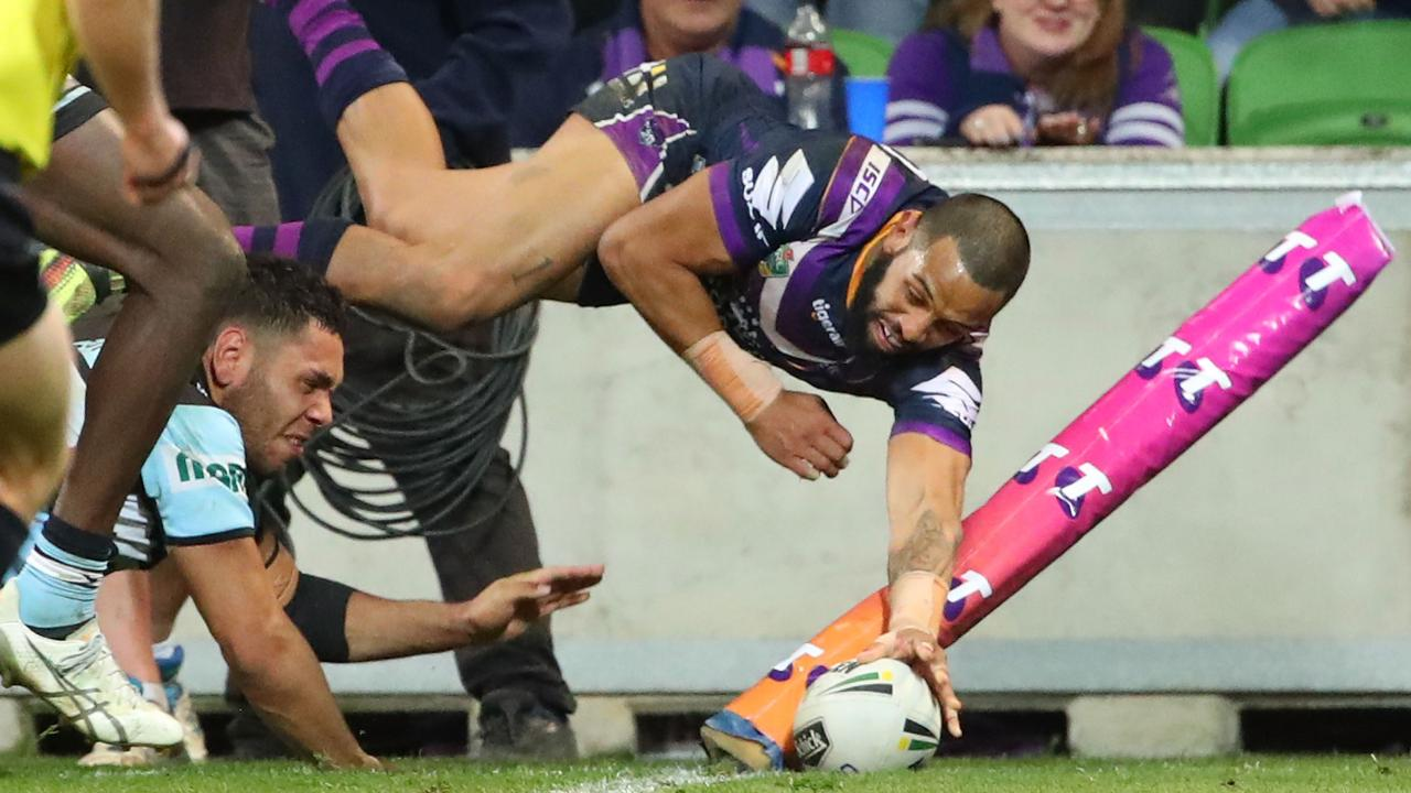 Josh Addo-Carr is a popular first try-scorer selection. (Photo by Scott Barbour/Getty Images)