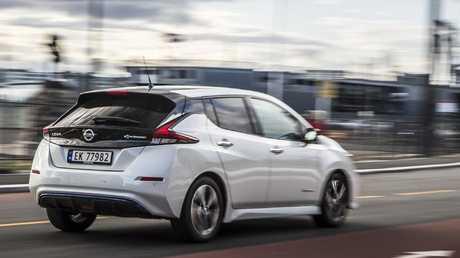 Nissan hasn't confirmed the Nissan Leaf's Australian launch date.