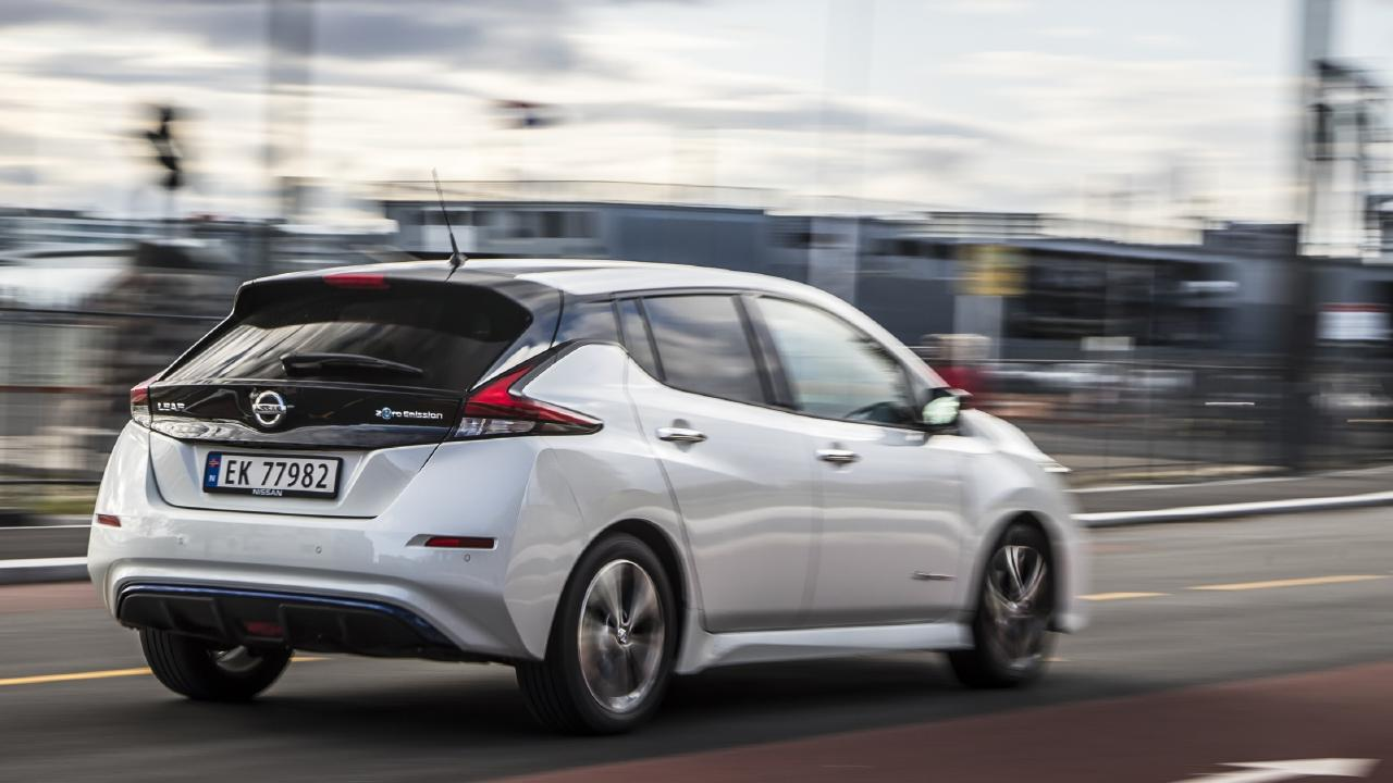 Nissan hasn't confirmed the Nissan Leaf's Australian launch date.