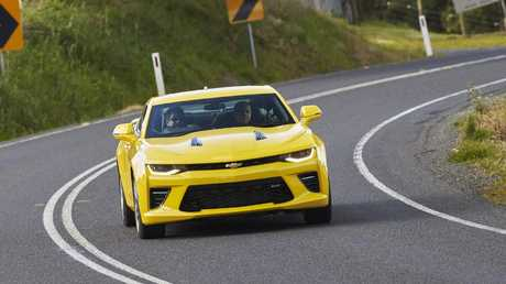 The Camaro is pitched at ex-Commodore buyers who want performance but don't need space.