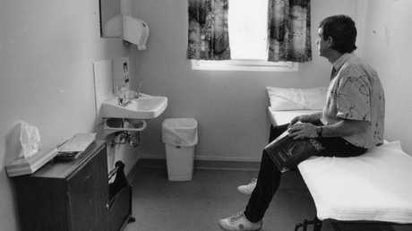 The process of donating sperm has changed dramatically over the past 30 years — you can't just walk in and donate like you could when this picture was taken at a clinic in 1992.